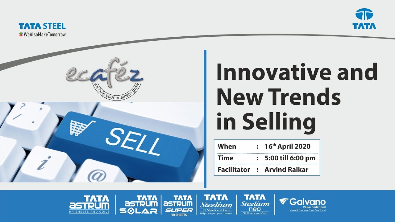 Ecafez Webinar on Innovative and New Trends in Selling Skills
