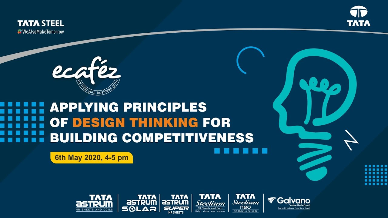 Ecafez Webinar on Applying principles of design thinking for building competitiveness
