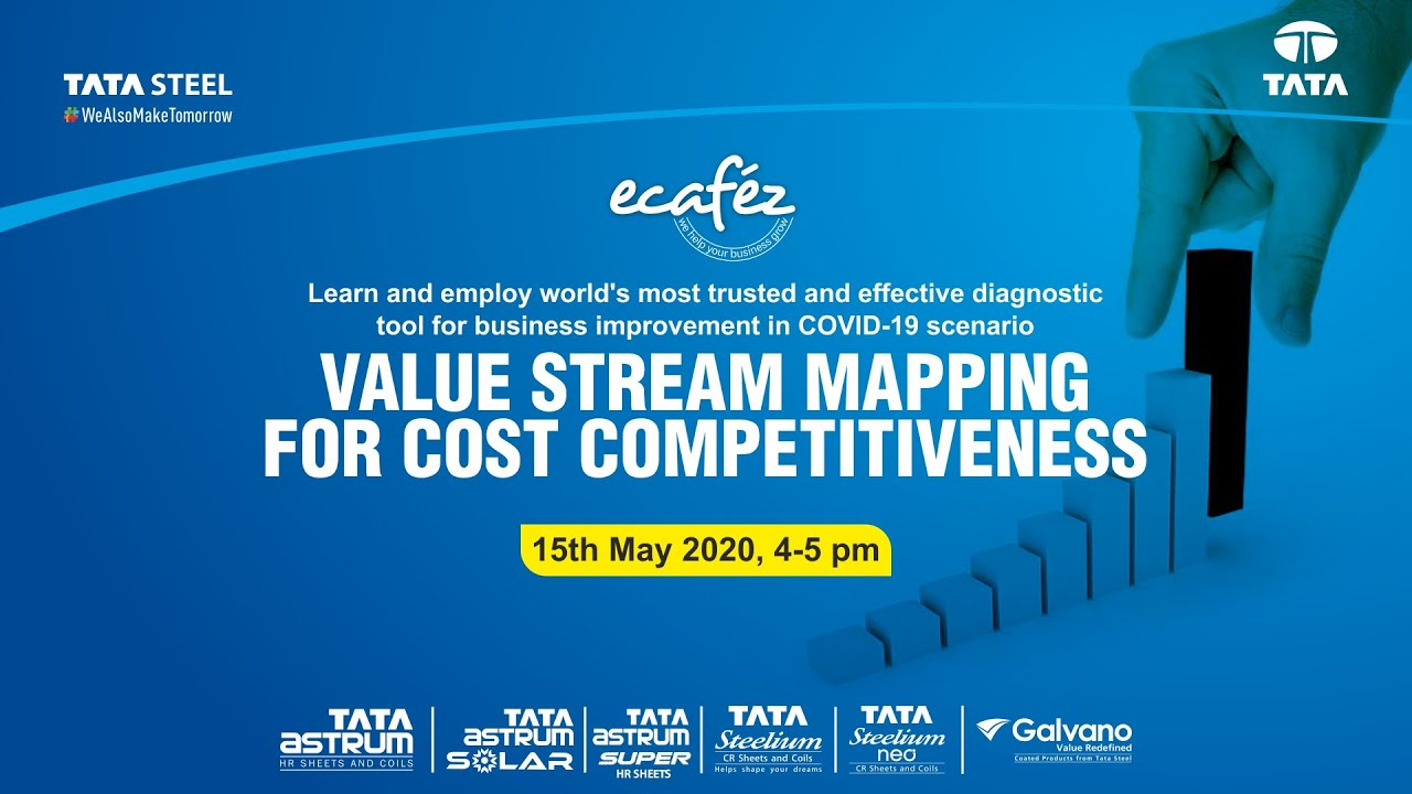 Ecafez Webinar on Value Stream Mapping for Cost Competitiveness