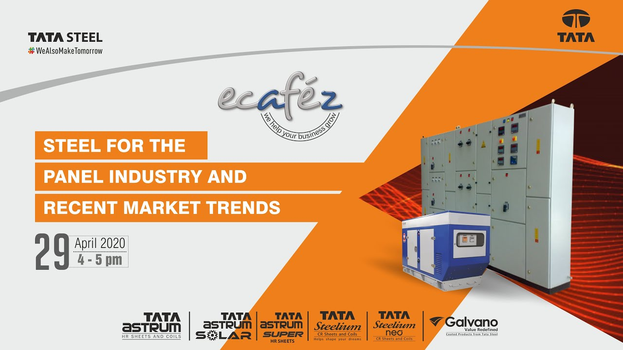 Ecafez Webinar on Steel for the Panel Industry and Recent Market Trends