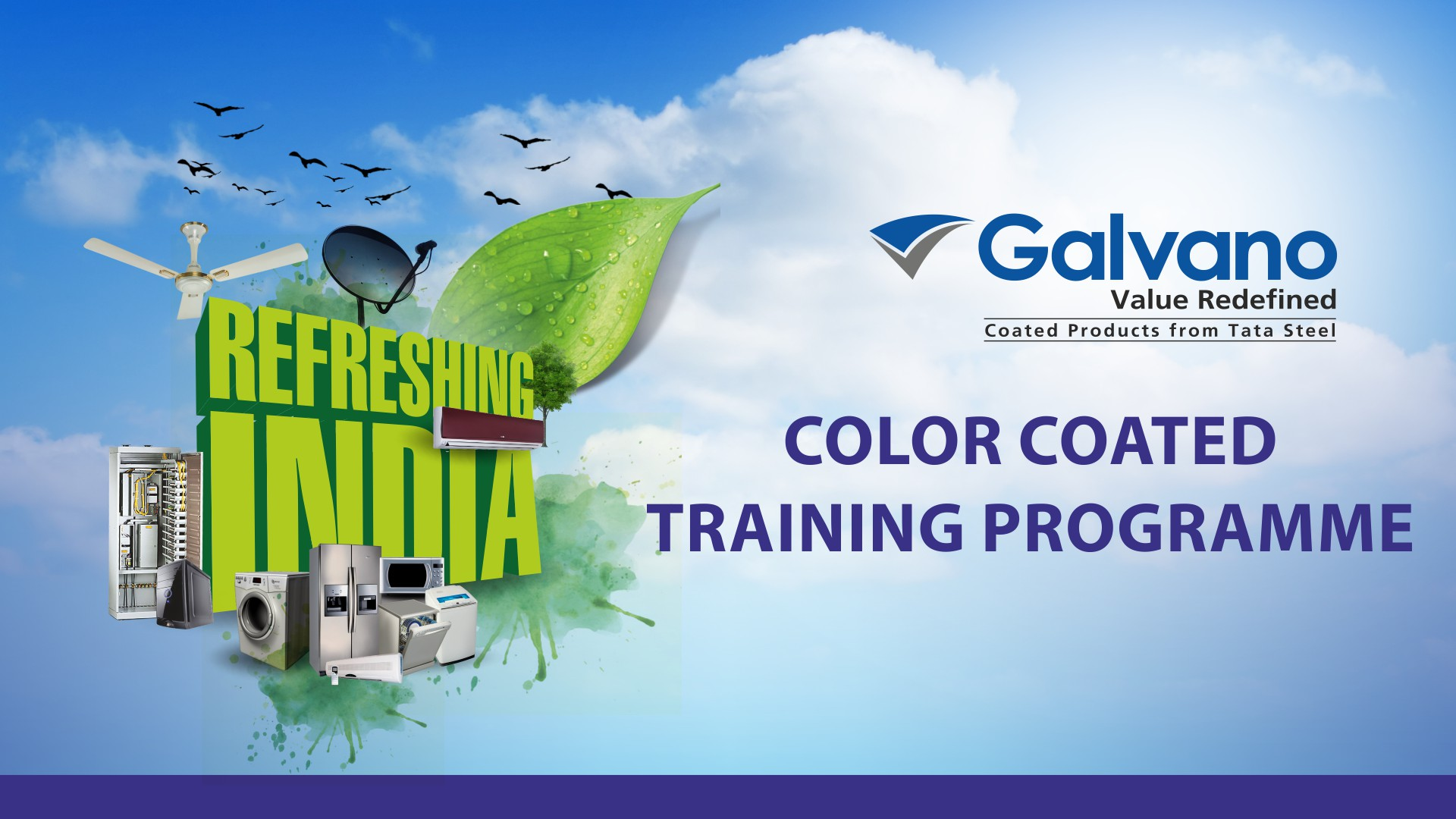 Tata Steel session on Colour Coated Products